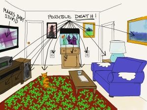 Living room Mom