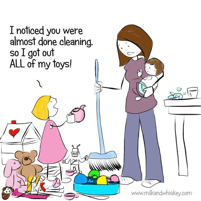 Cleaning is hard. Don't bother.