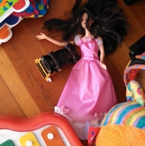 Bad things happen to Barbie all the time, around here.