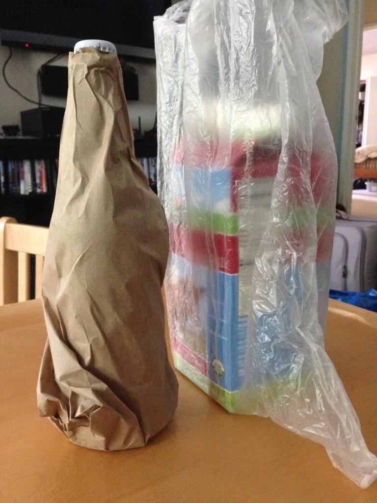 Paper or Plastic?