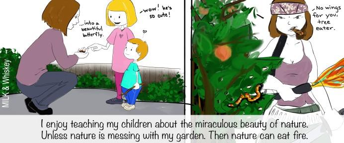 Garden comic