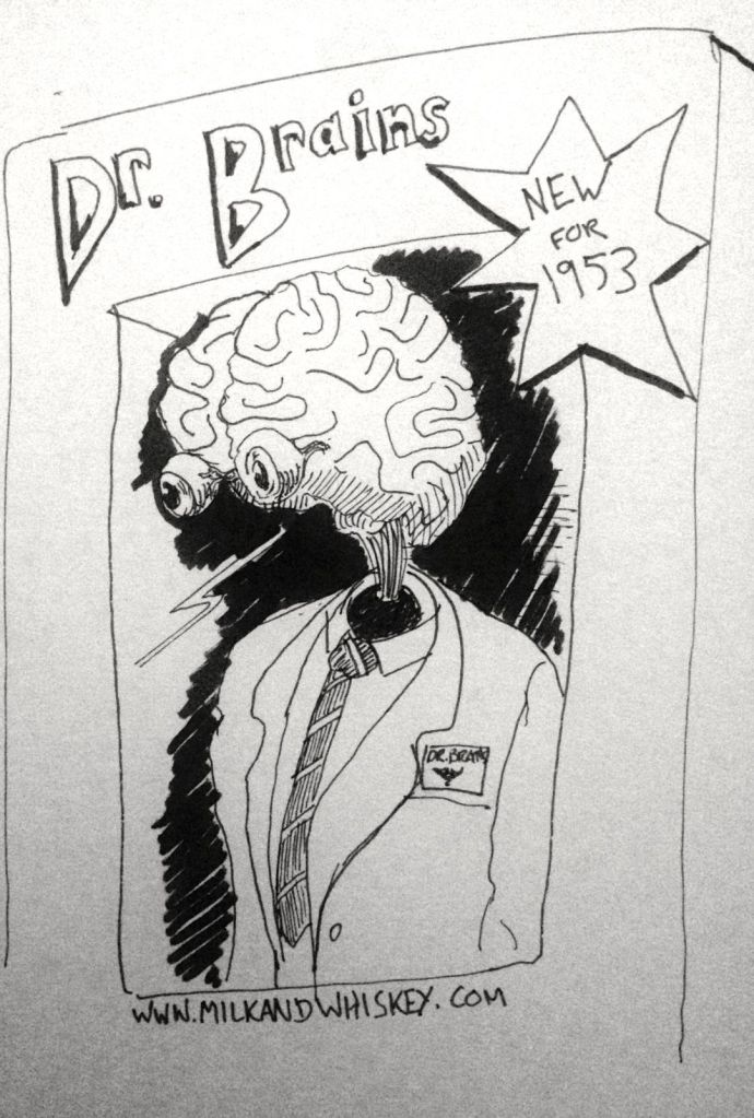 Super rare mint in box Dr Brains!